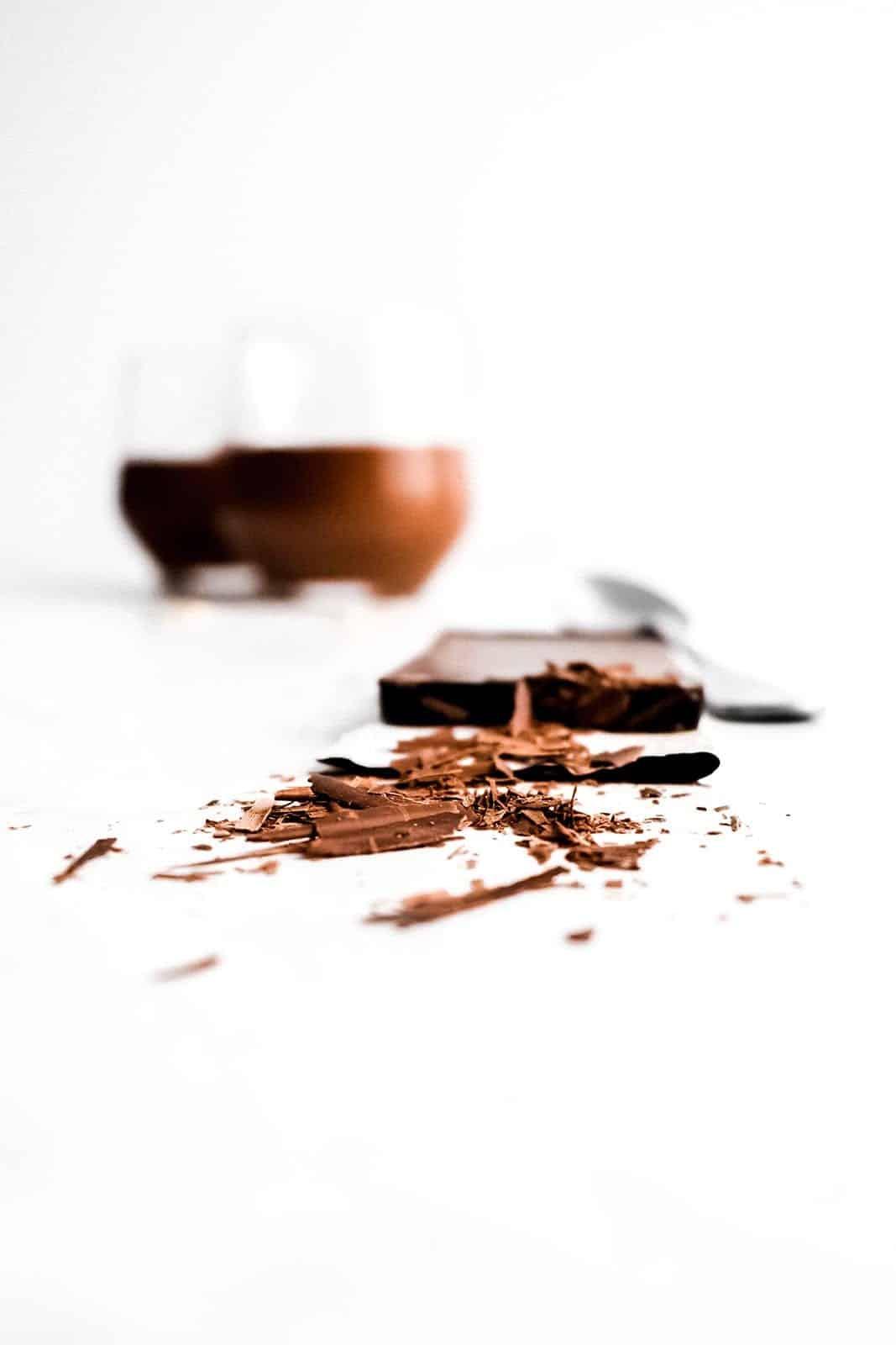 Vegan Chocolate & Coconut Mousse