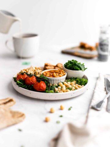 Healthy Full English Vegan Breakfast (1 of 1)-2