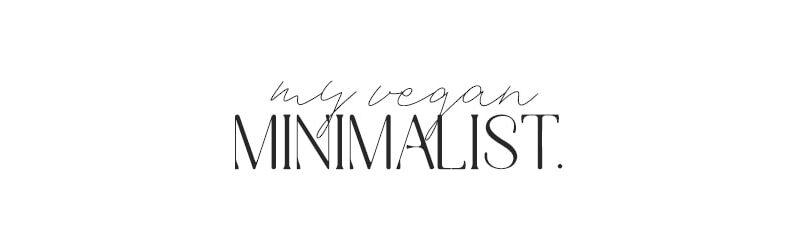 My Vegan Minimalist